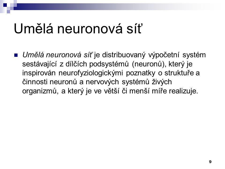Umělá neuronová síť