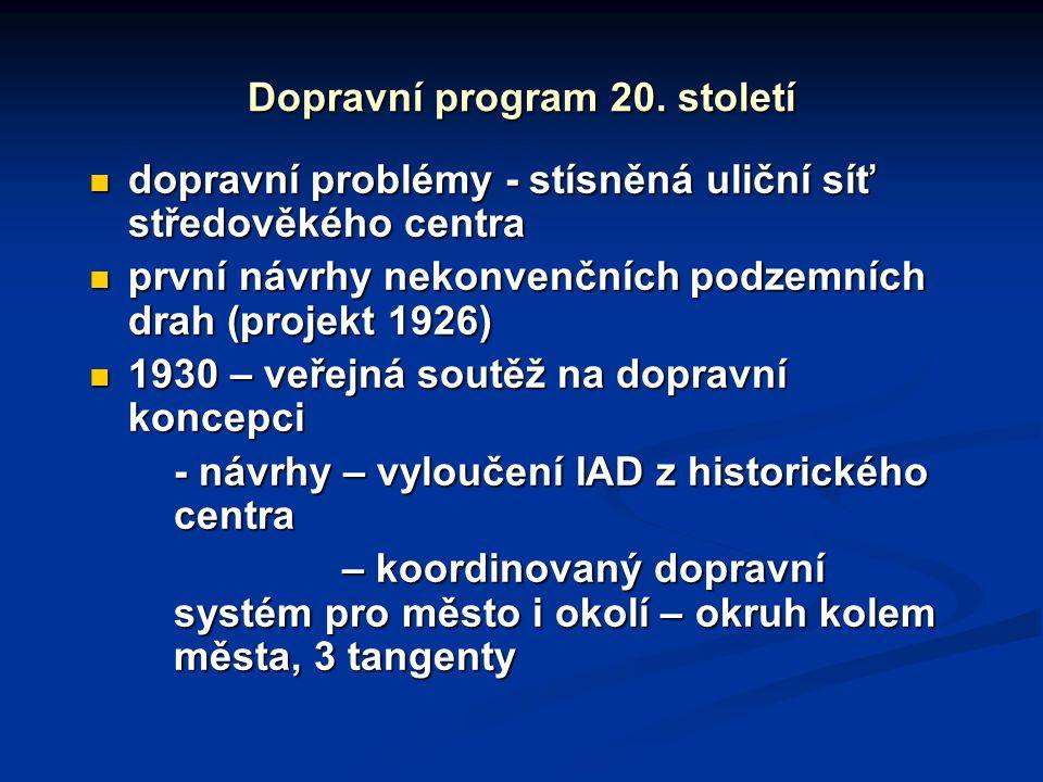 Dopravní program 20. století