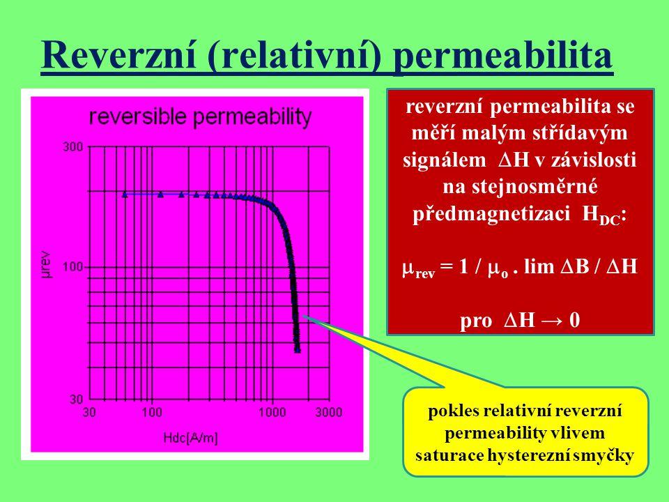 Reverzní (relativní) permeabilita