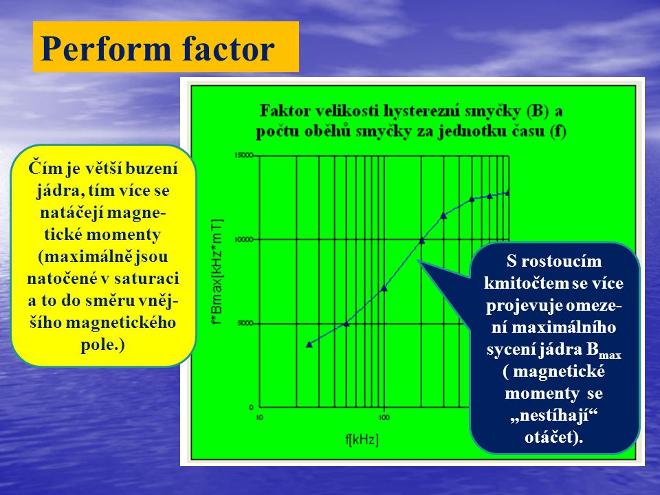 Perform factor