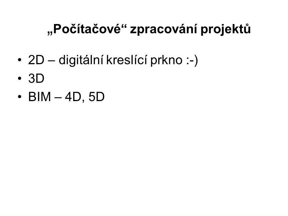 """""""Počítačové zpracování projektů"""