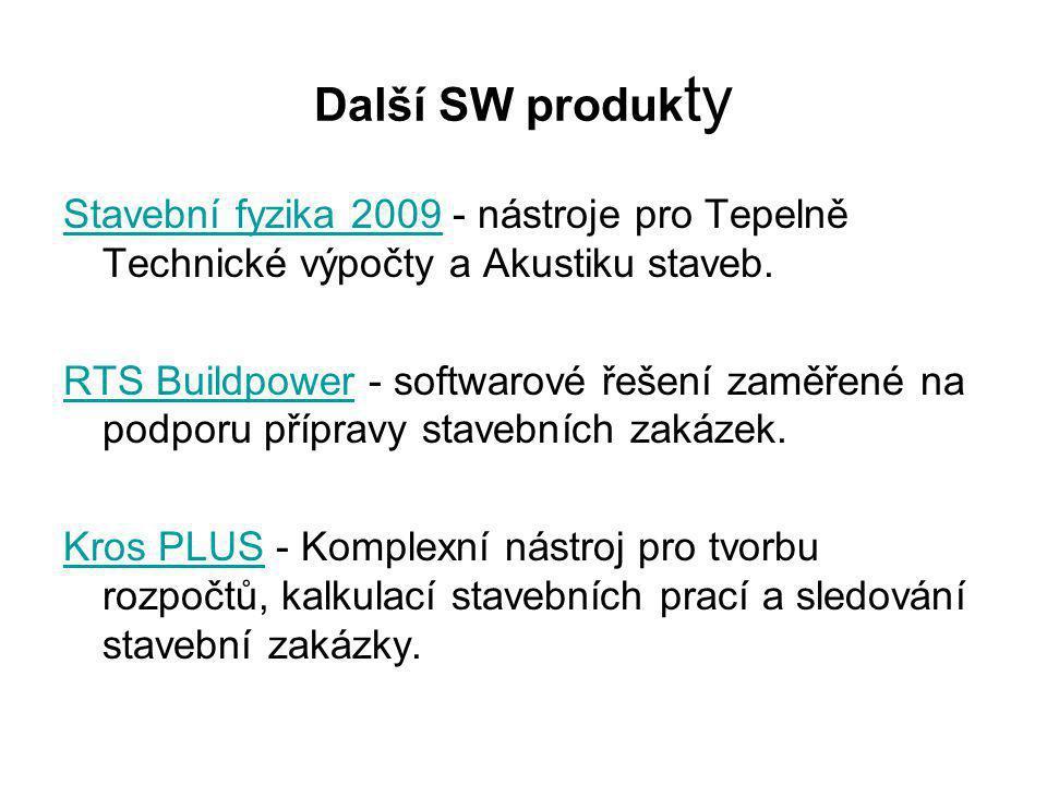 Další SW produkty