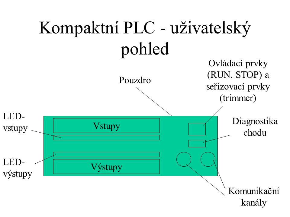 Kompaktní PLC - uživatelský pohled