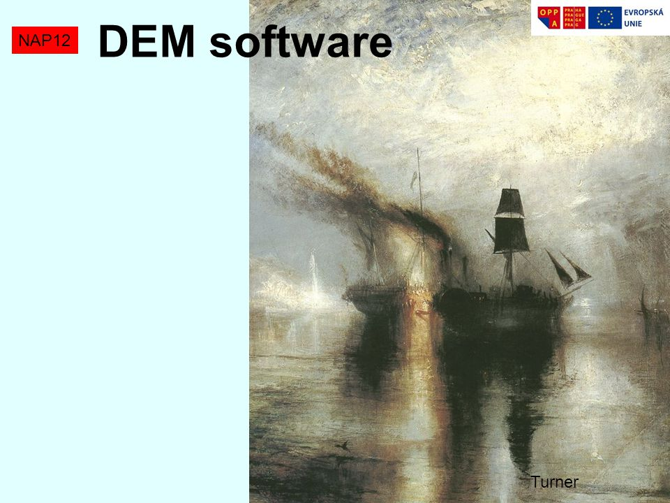 DEM software NAP12 Turner