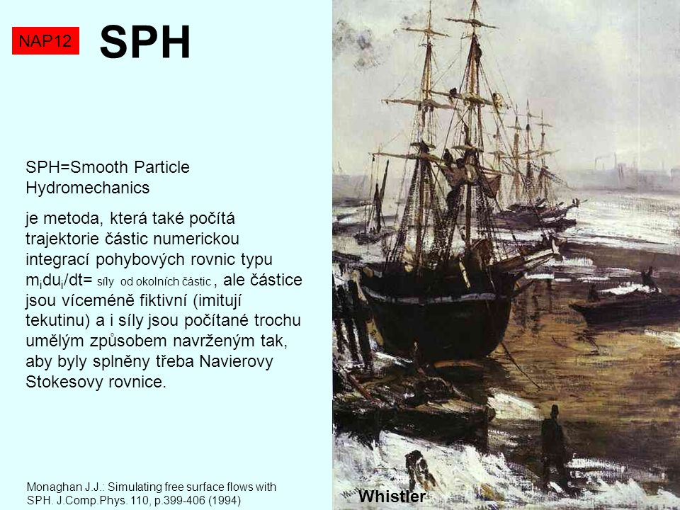 SPH NAP12 SPH=Smooth Particle Hydromechanics