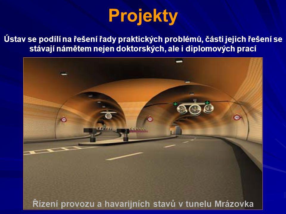 Řízení provozu a havarijních stavů v tunelu Mrázovka