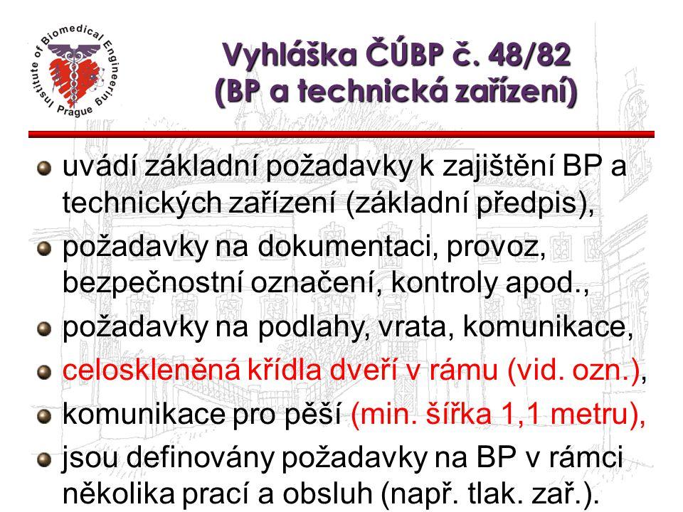 Vyhláška ČÚBP č. 48/82 (BP a technická zařízení)