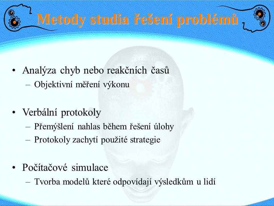 Metody studia řešení problémů
