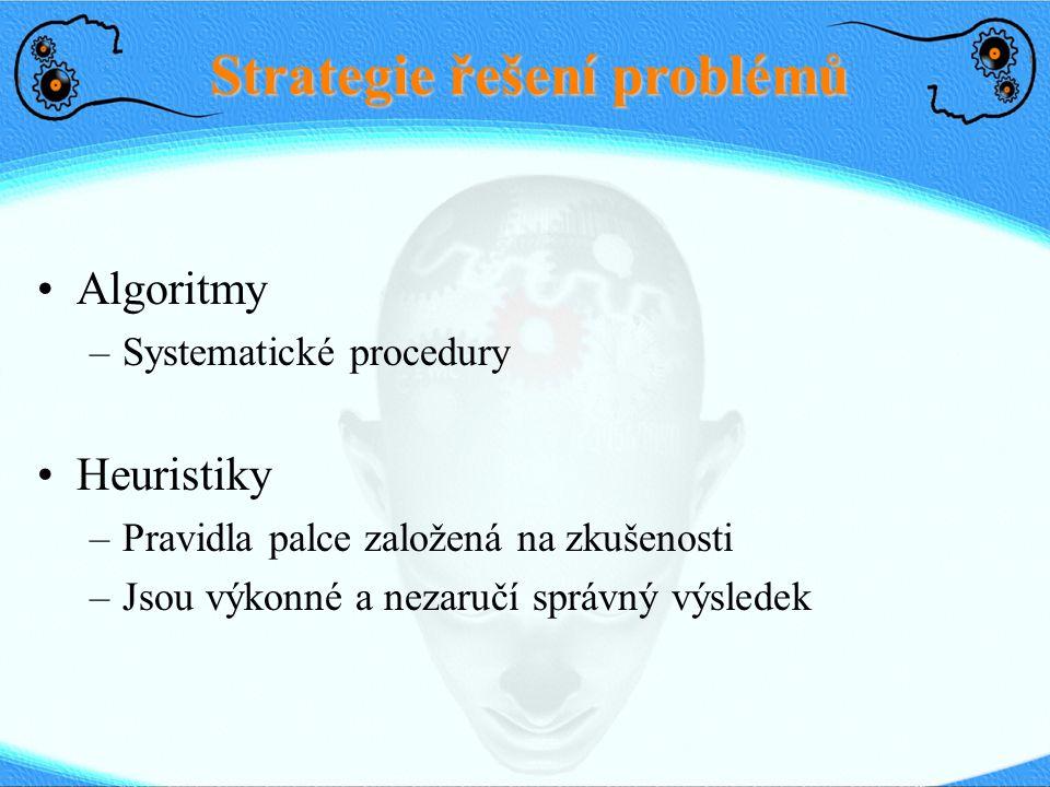 Strategie řešení problémů