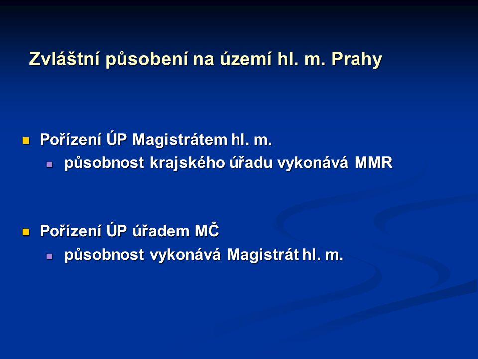 Zvláštní působení na území hl. m. Prahy