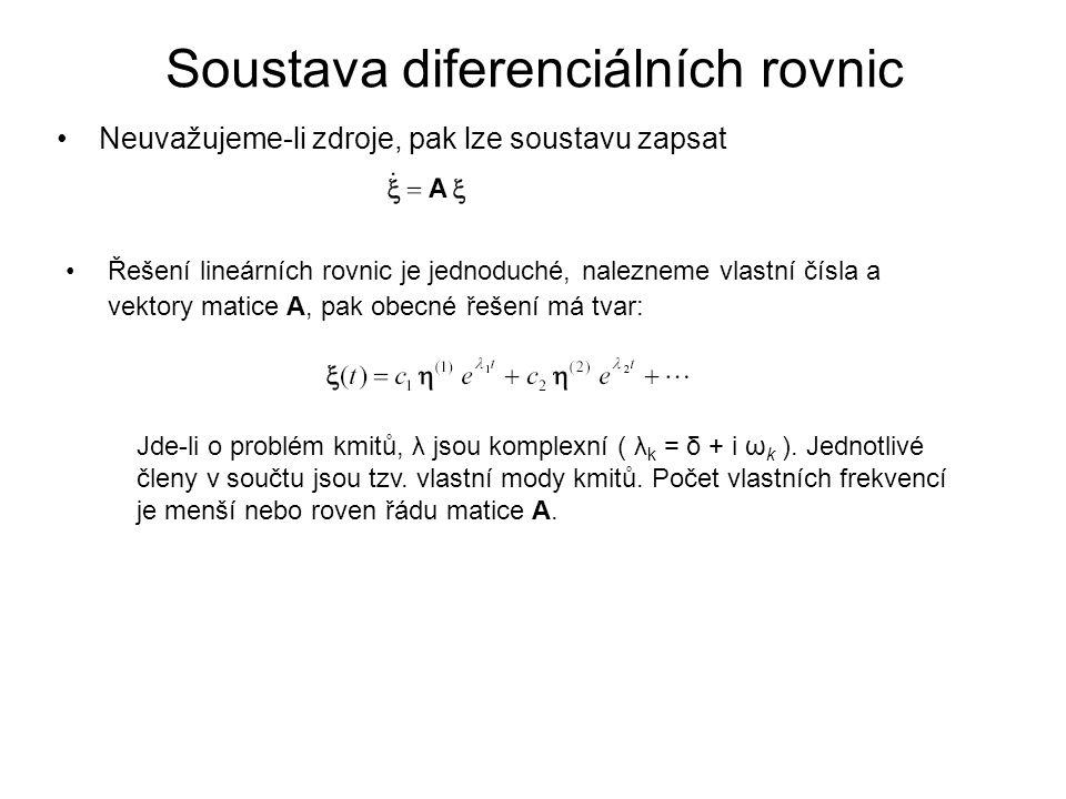 Soustava diferenciálních rovnic