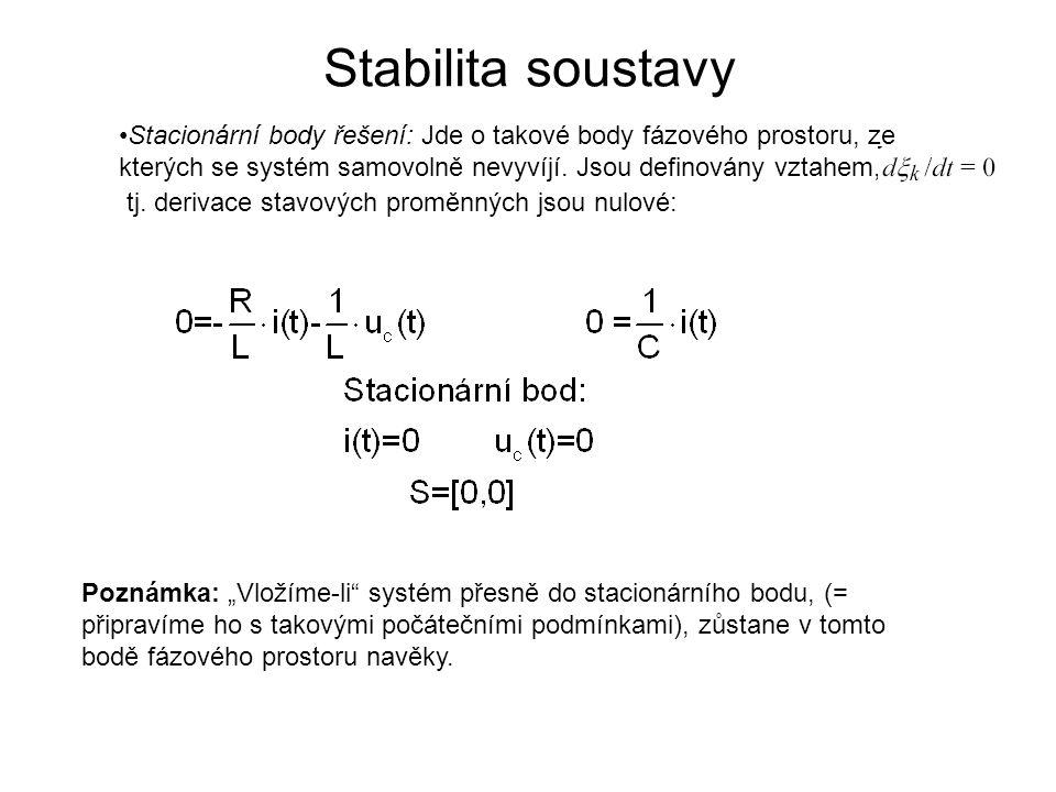 Stabilita soustavy