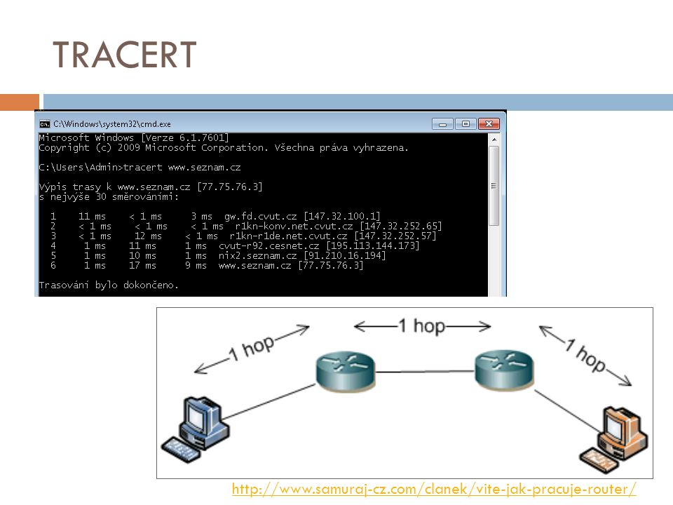 TRACERT http://www.samuraj-cz.com/clanek/vite-jak-pracuje-router/