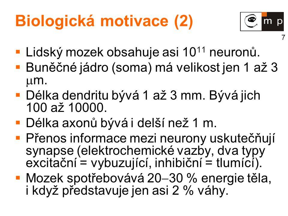 Biologická motivace (2)