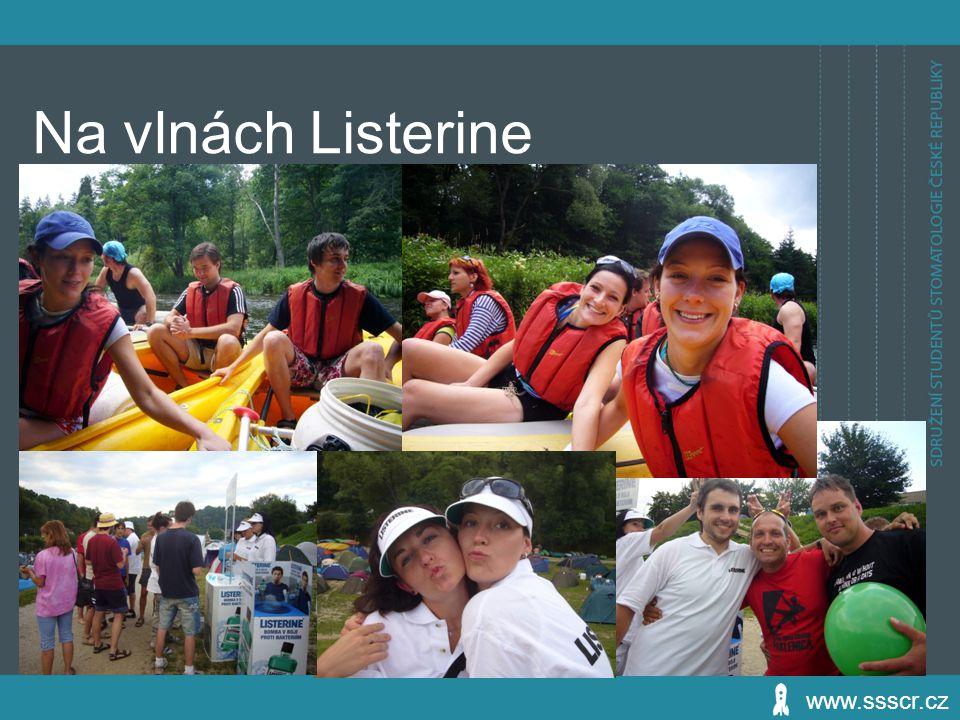 Na vlnách Listerine www.ssscr.cz