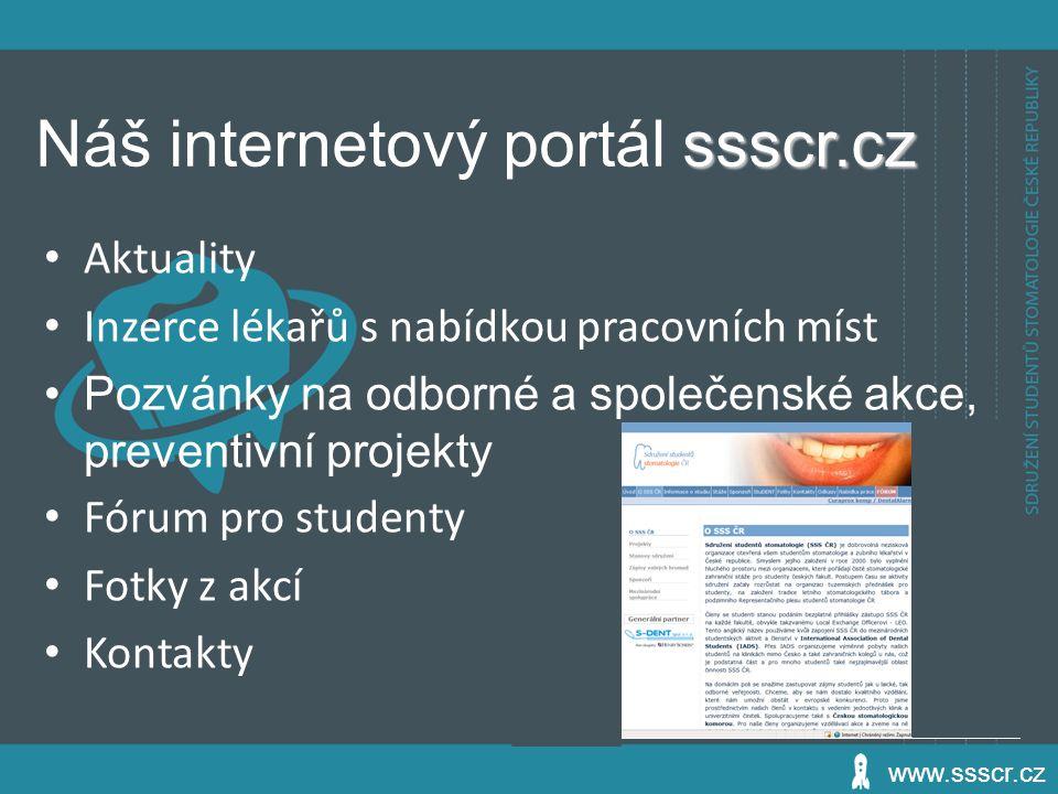 Náš internetový portál ssscr.cz