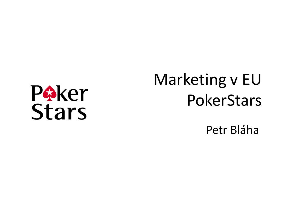Marketing v EU PokerStars
