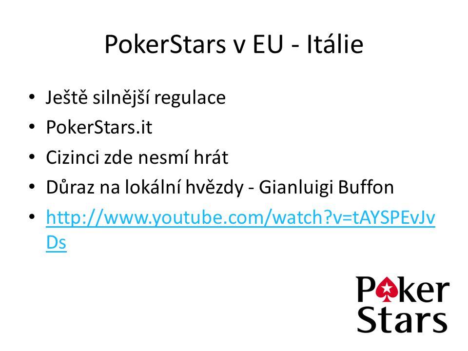 PokerStars v EU - Itálie