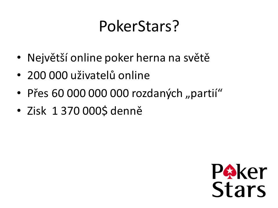 PokerStars Největší online poker herna na světě