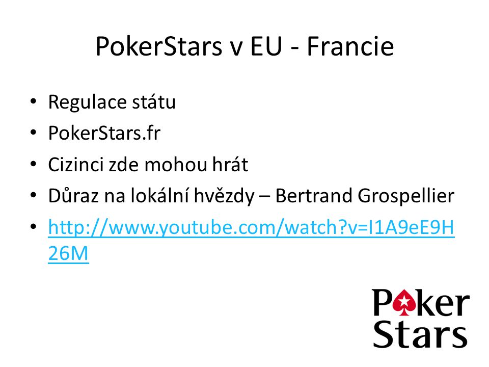 PokerStars v EU - Francie
