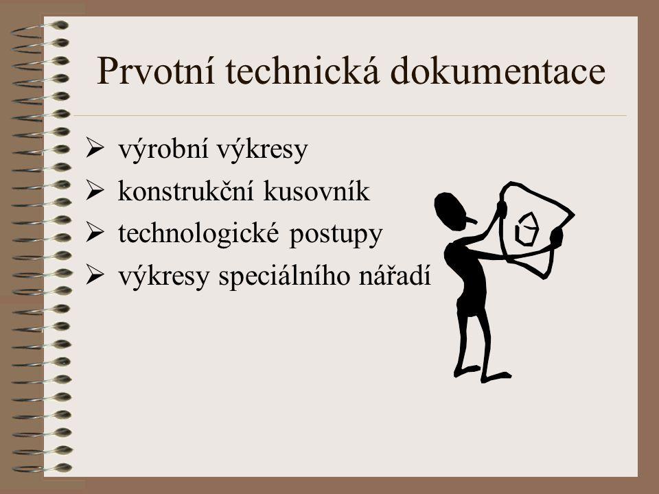 Prvotní technická dokumentace