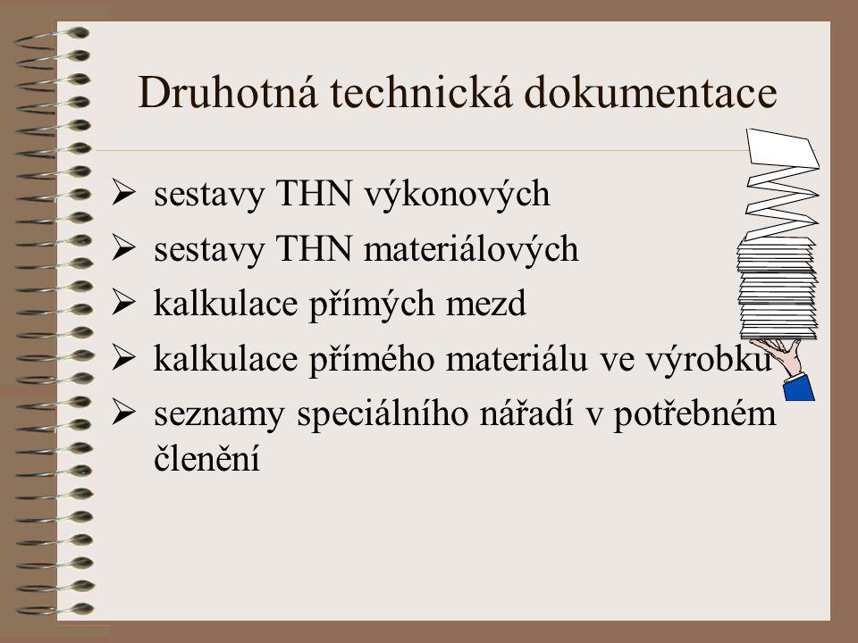 Druhotná technická dokumentace