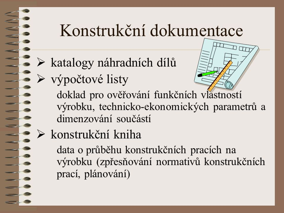 Konstrukční dokumentace