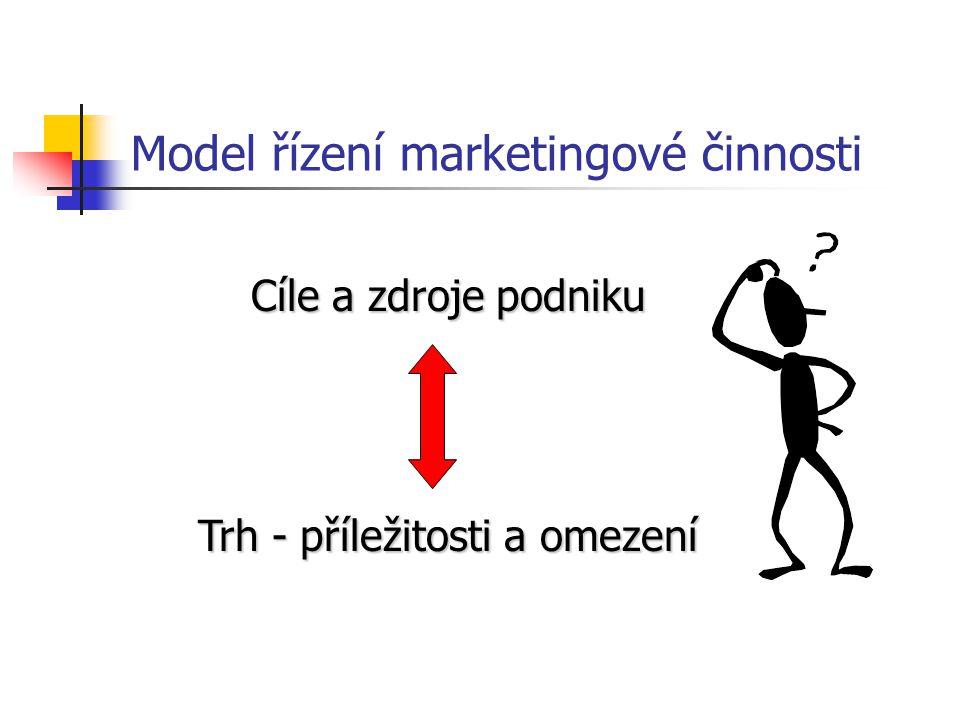 Model řízení marketingové činnosti