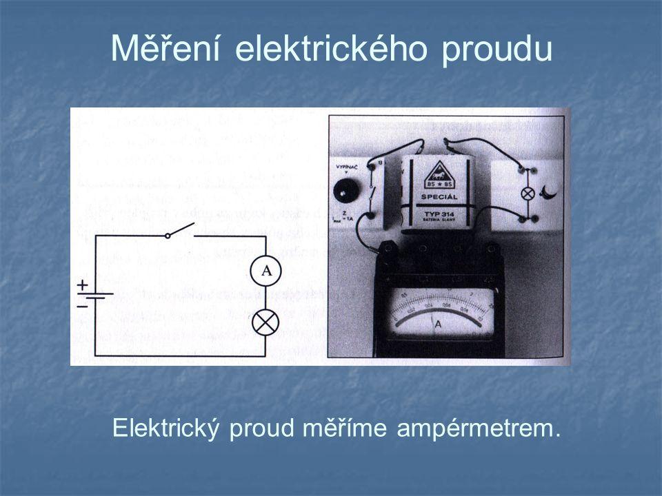 Měření elektrického proudu