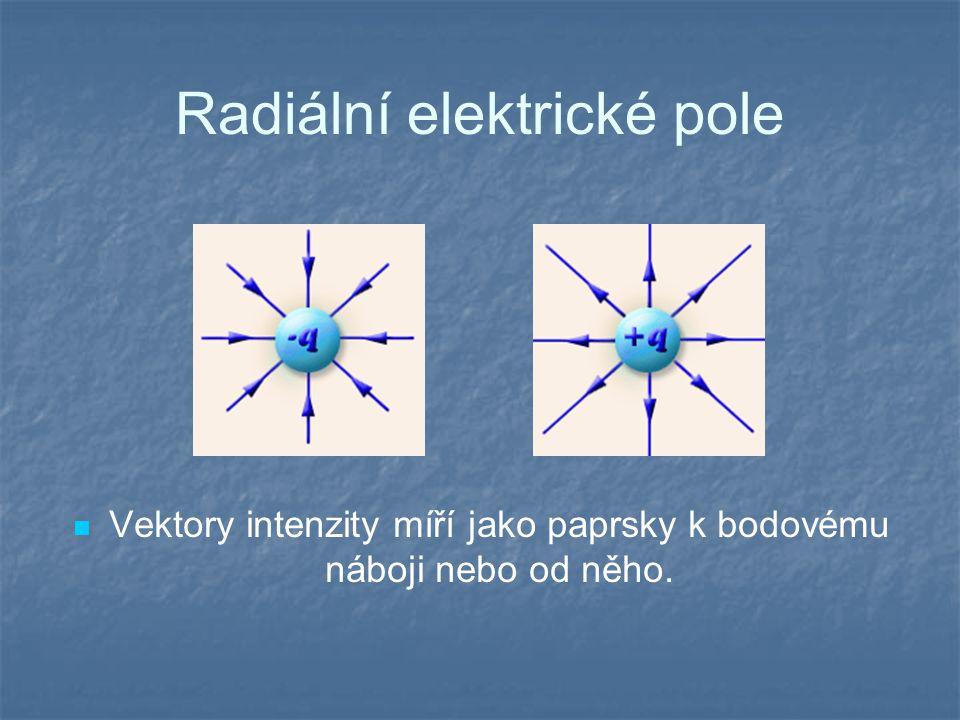 Radiální elektrické pole