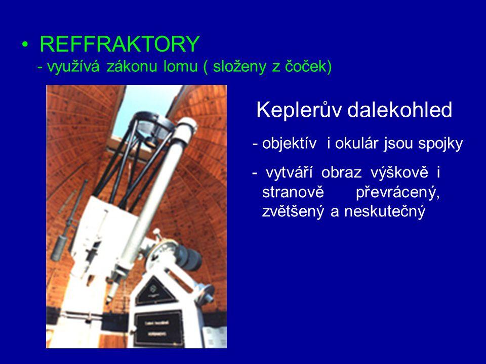 REFFRAKTORY Keplerův dalekohled