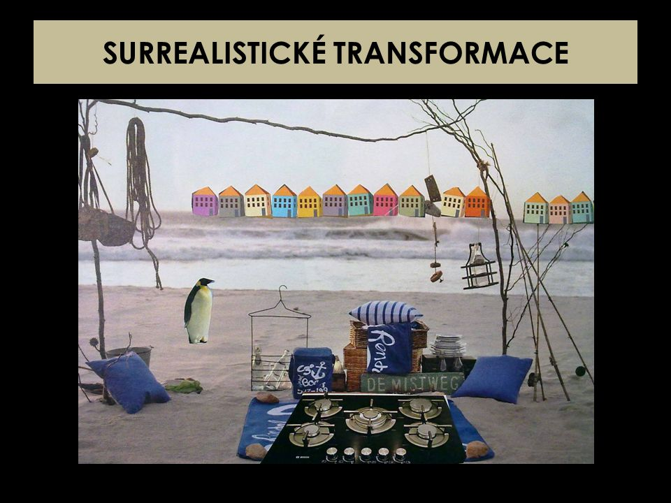 SURREALISTICKÉ TRANSFORMACE