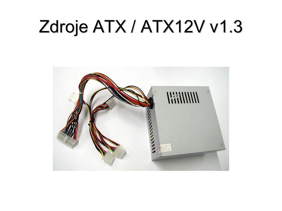 Zdroje ATX / ATX12V v1.3
