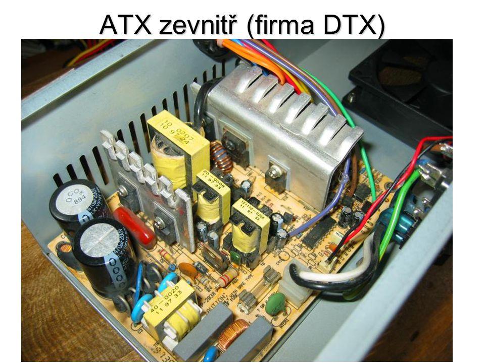 ATX zevnitř (firma DTX)