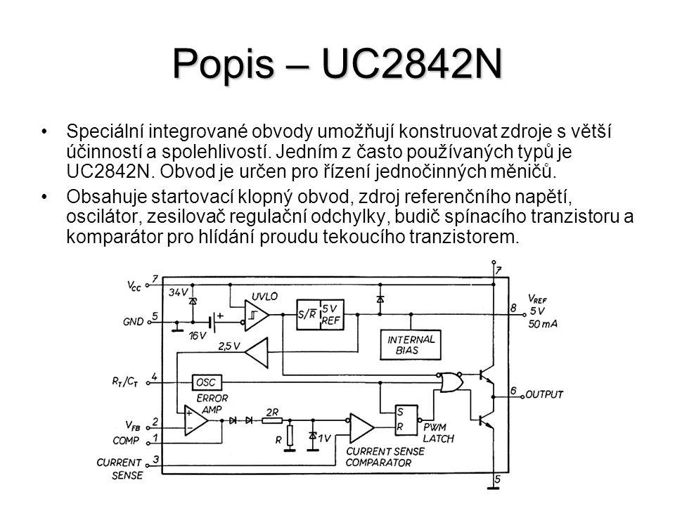Popis – UC2842N