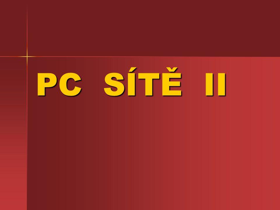 PC SÍTĚ II