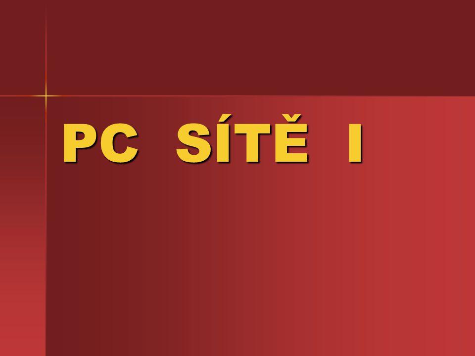 PC SÍTĚ I
