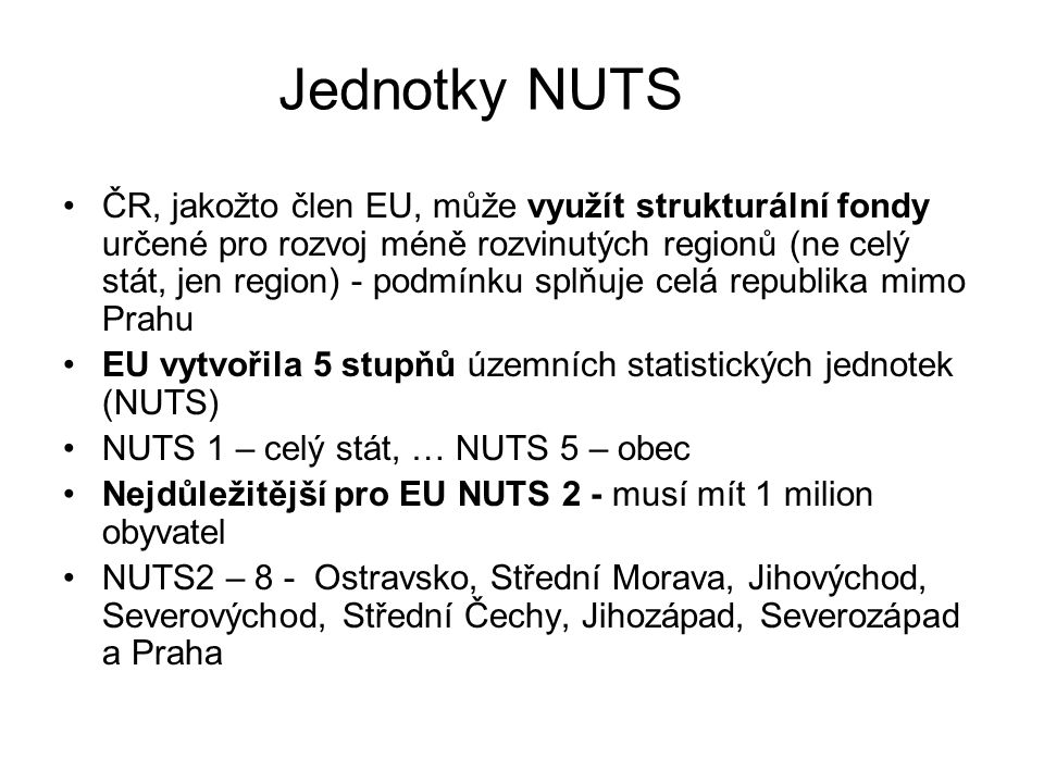 Jednotky NUTS