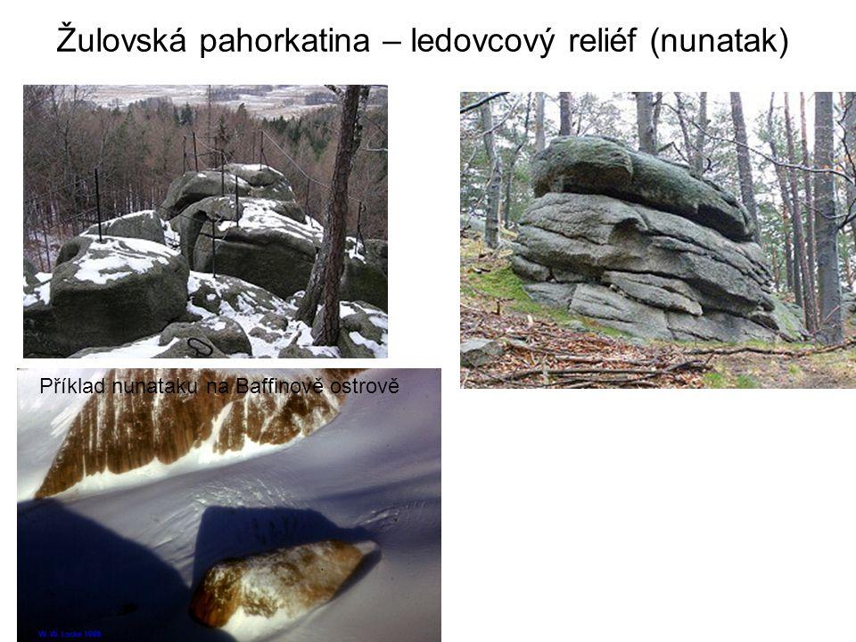 Žulovská pahorkatina – ledovcový reliéf (nunatak)