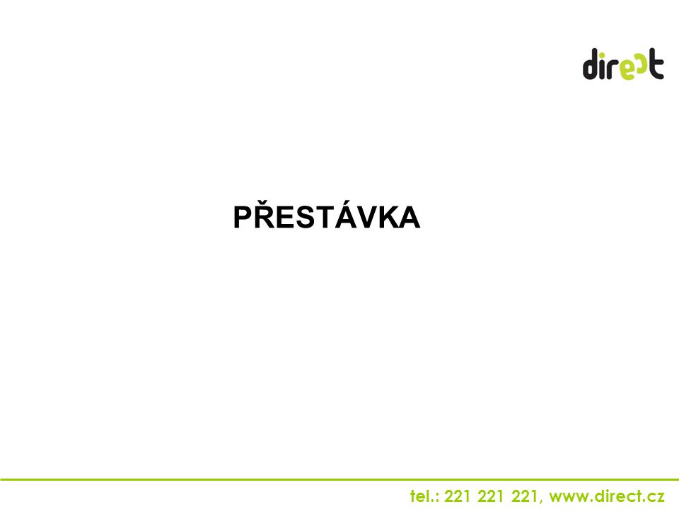 PŘESTÁVKA