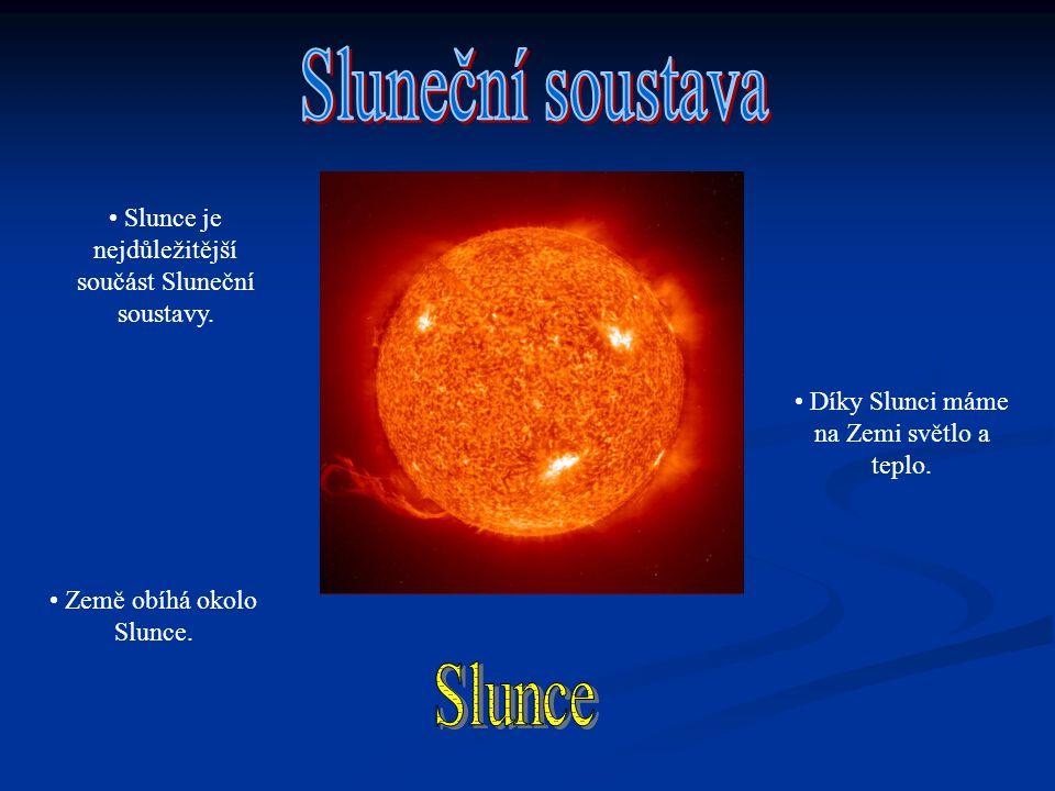 Sluneční soustava Slunce