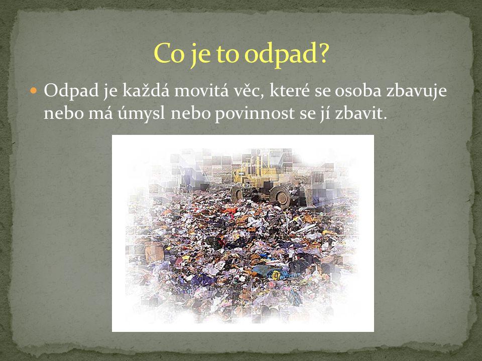 Co je to odpad.