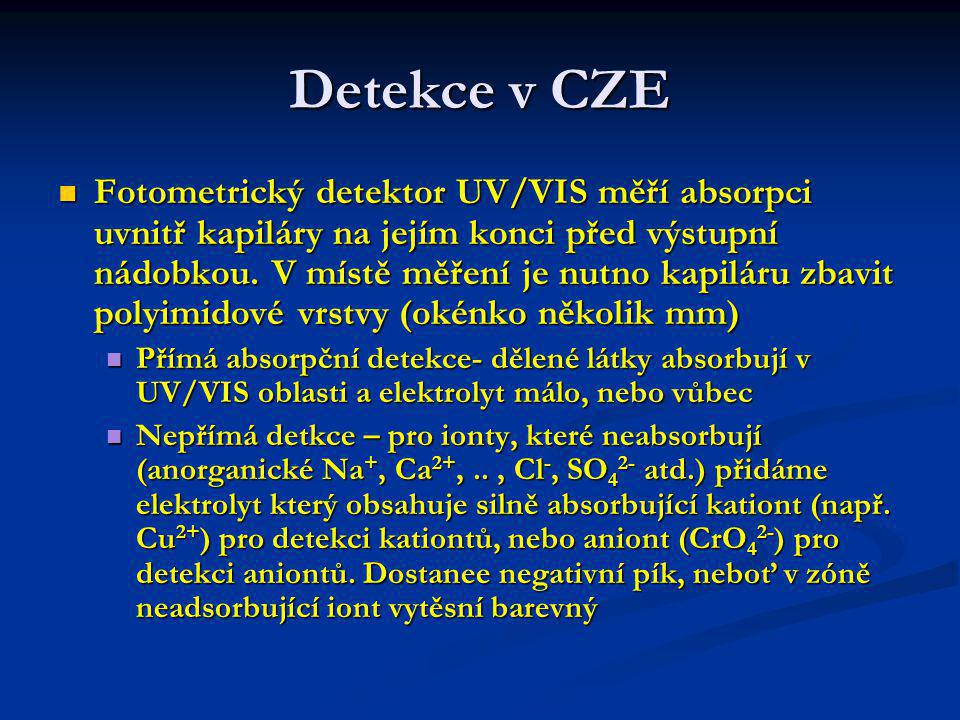 Detekce v CZE