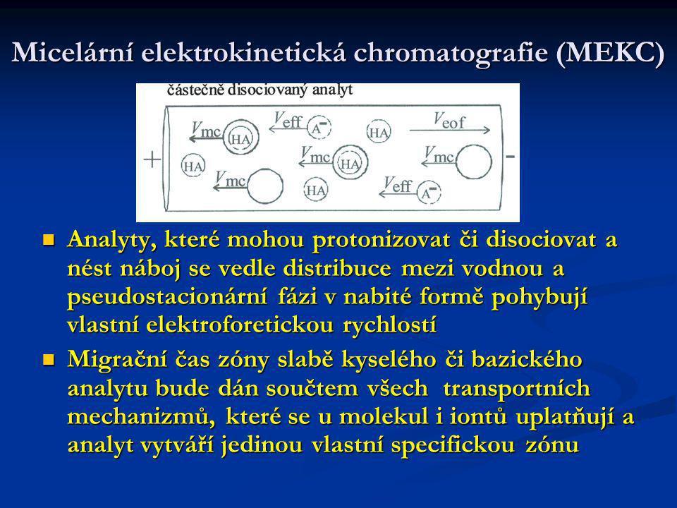 Micelární elektrokinetická chromatografie (MEKC)