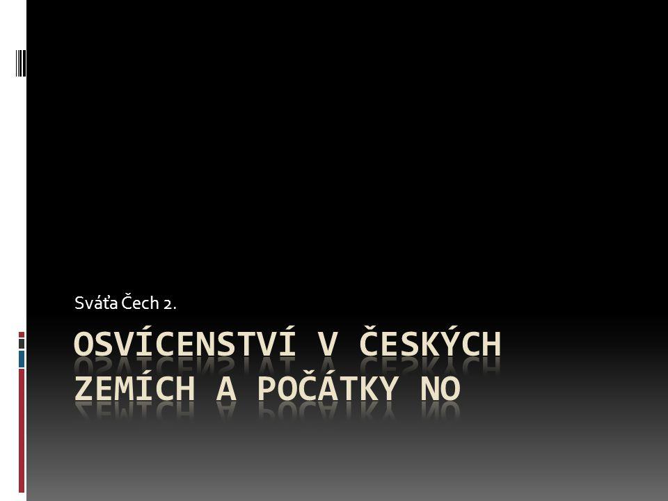 Osvícenství v českých zemích a počátky NO
