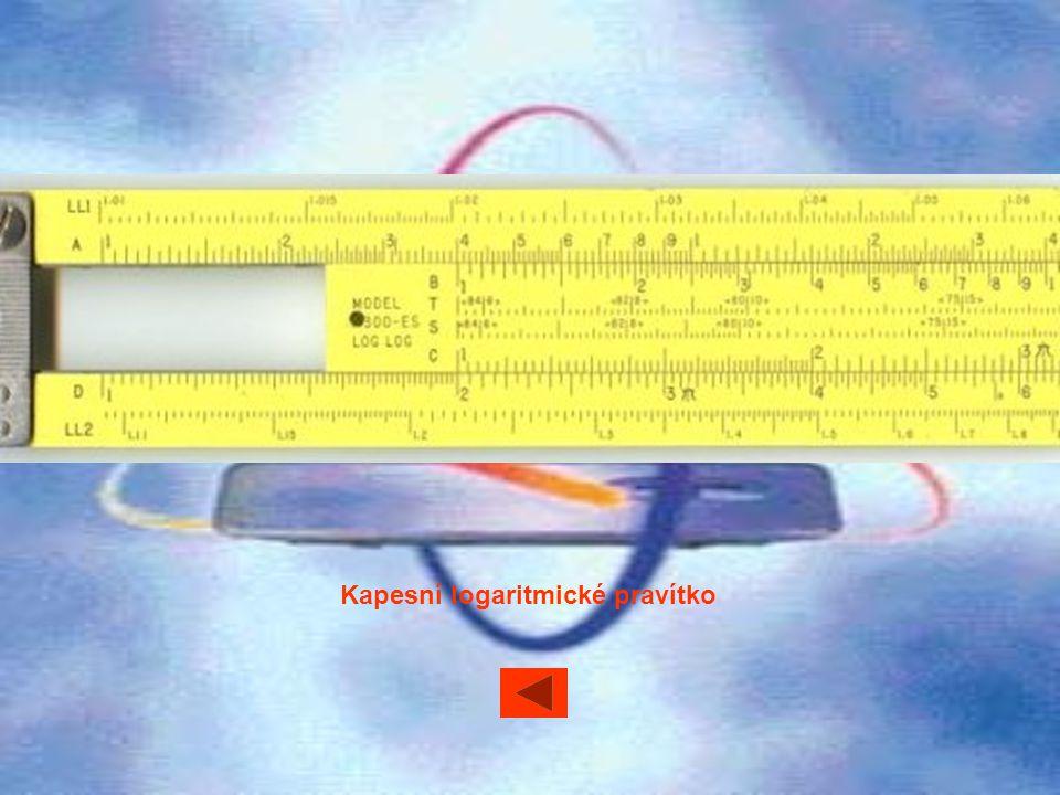 Kapesní logaritmické pravítko