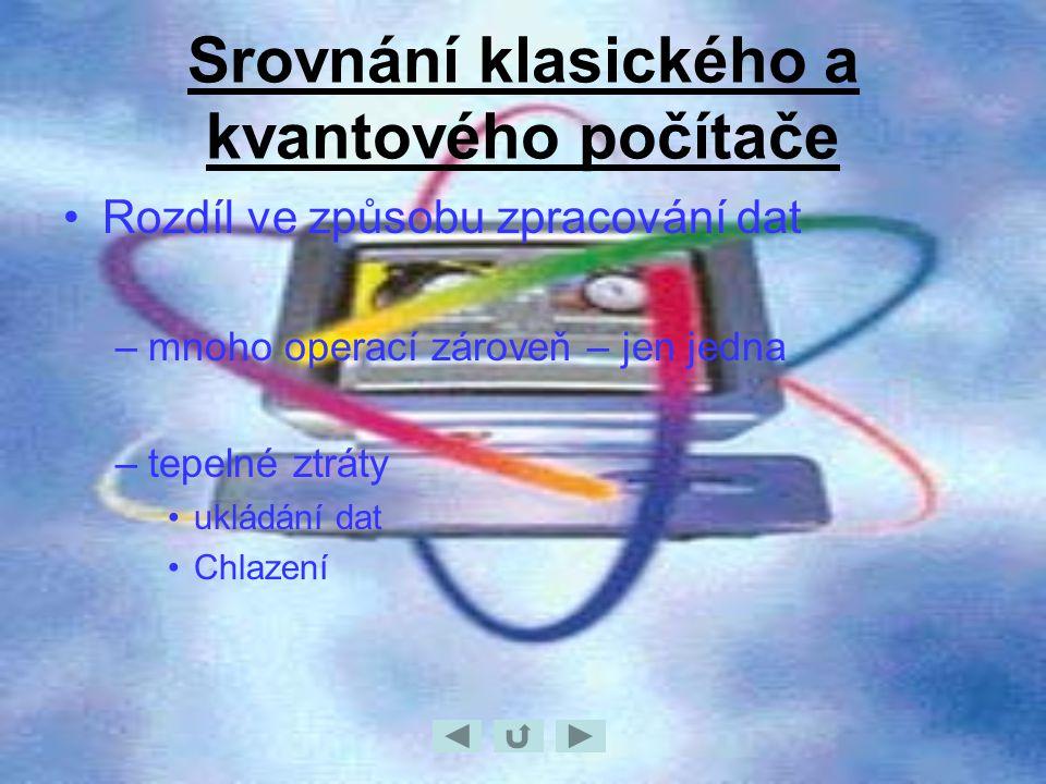 Srovnání klasického a kvantového počítače