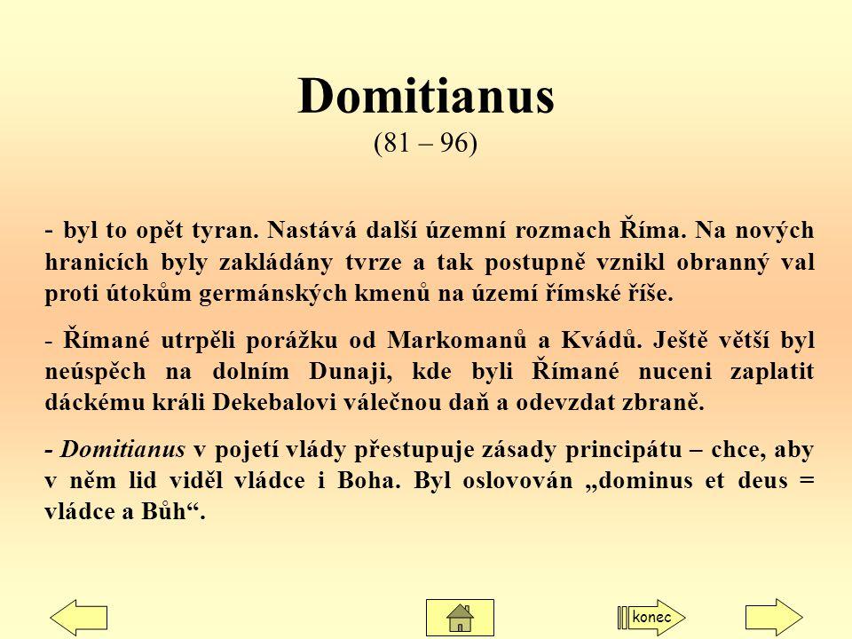 Domitianus (81 – 96)
