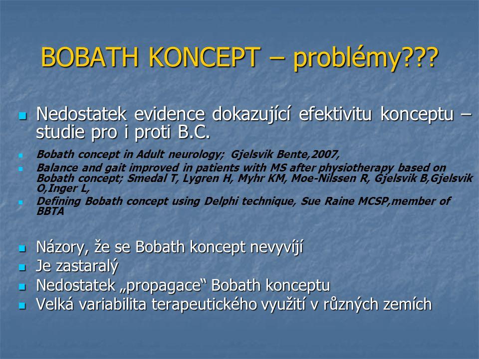 BOBATH KONCEPT – problémy