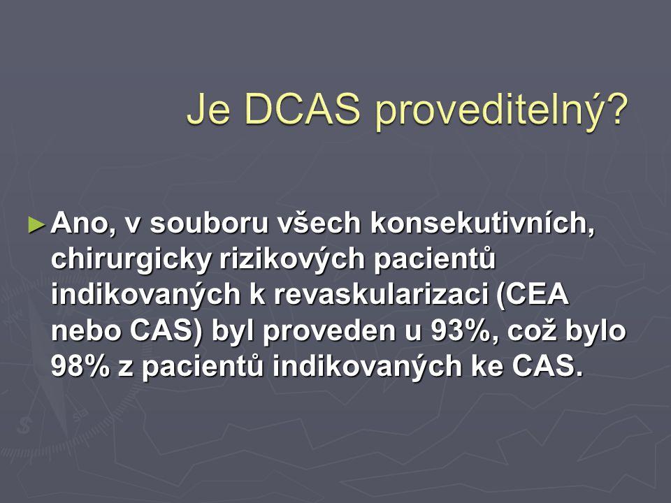 Je DCAS proveditelný